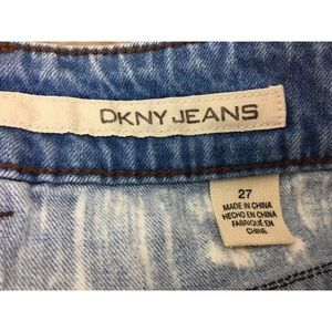 Dkny Skirts - DKNY denim mini skirt